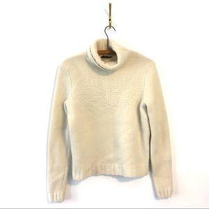 Ralph Lauren Wool & Rabbit Hair Turtleneck Sweater